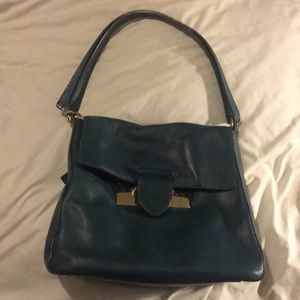 Henri Bendel Dark Turquoise shoulder bag
